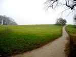 The paved hill (Hampstead Heath)