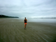 Long run on Long Beach