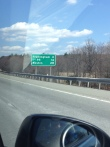 Entering Hopkinton