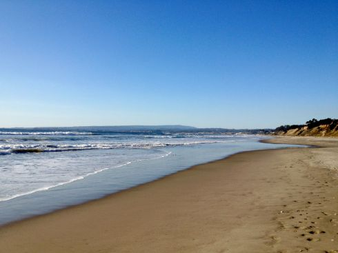 Afternoon shot of La Selva Beach