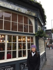 Chelsea Potter pub (where I met E)