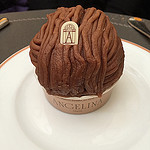 The Mont Blanc at Angelina's in Paris