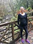 Trail running in Nisene at 24 weeks