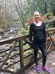 Trail running in Nisene at 24 weeks